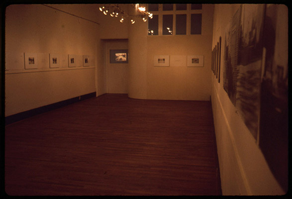 Murder Research, installation view, Western Front, 1977, Courtesy of Paul Wong